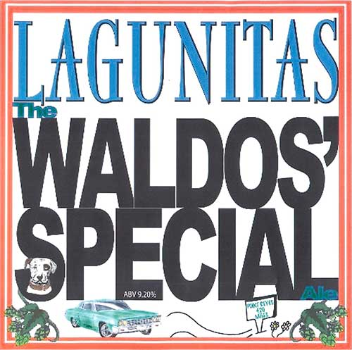 Lagunitas Brewery Waldos Special Ale